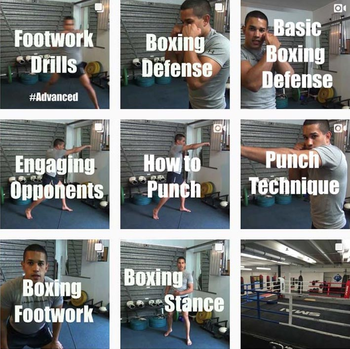 boxing training technique tutorials