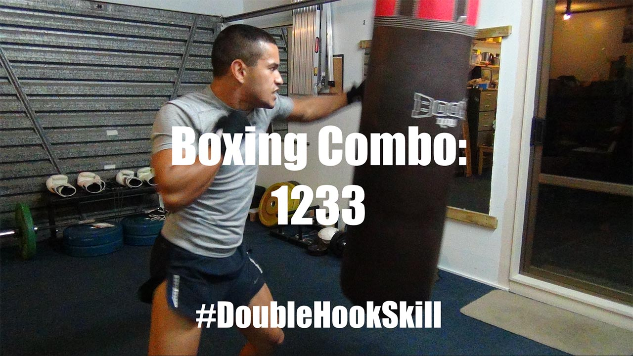 Boxing Combo for FAST Double Left Hooks - 1233