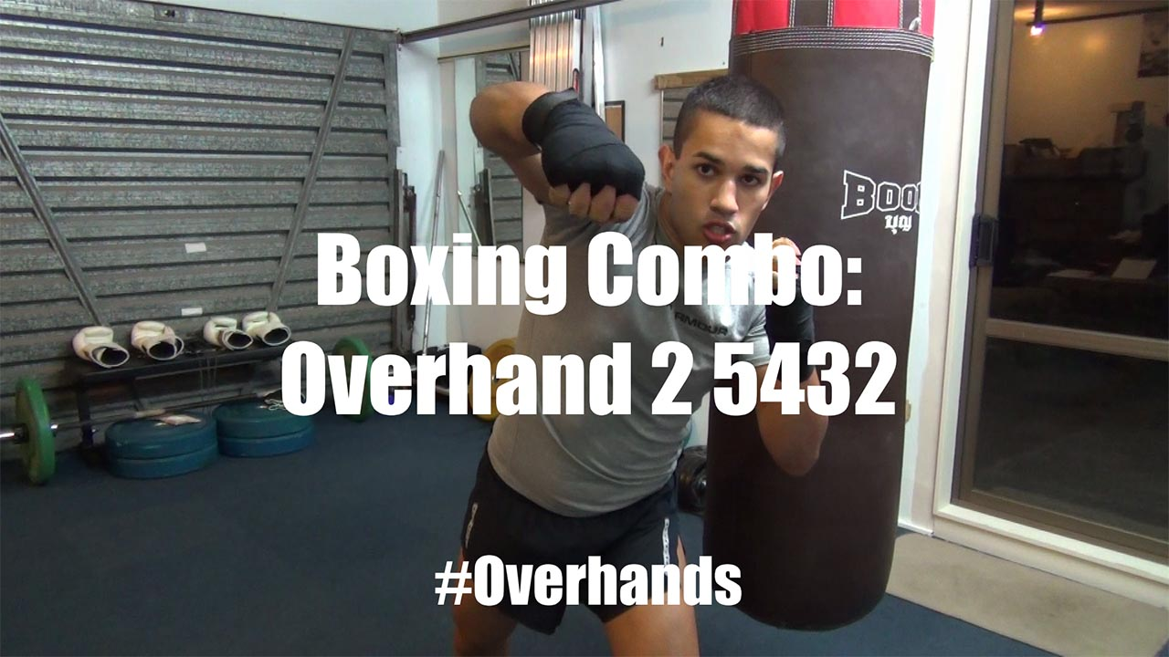 Boxing Combo for Overhand Punches