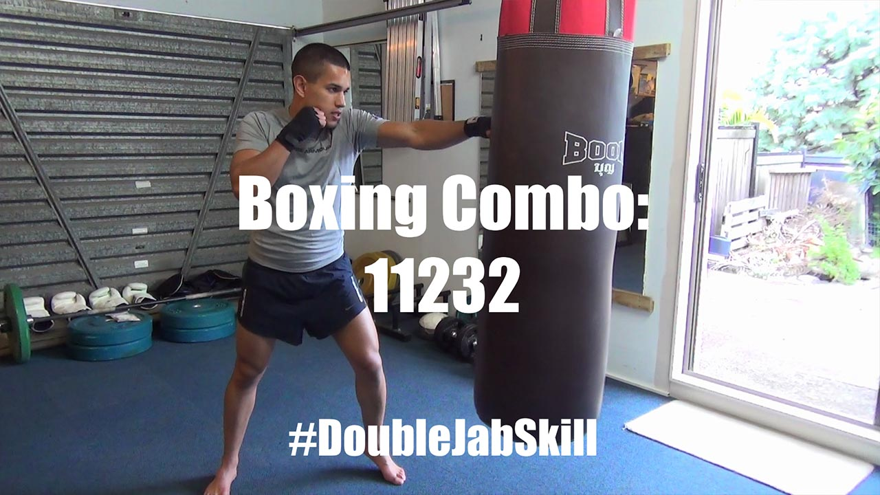 Boxing Combo for Rapid, Powerful Double Jabs - 11232