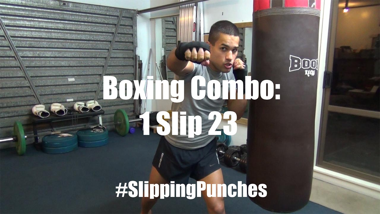 Boxing Combos for Evading Punches with Slips