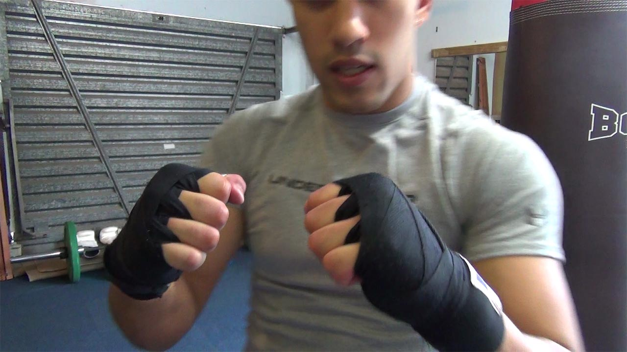 How to Wrap your Hands for Boxing and Kick Boxing
