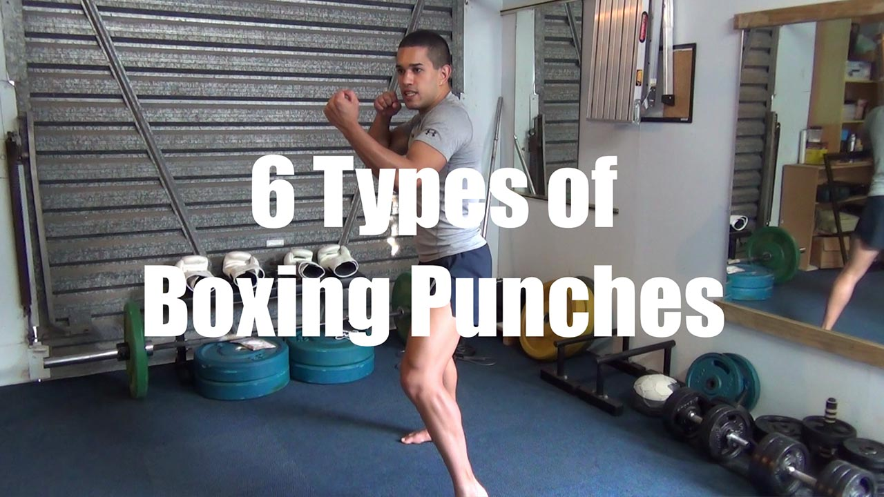 The 6 Types of Boxing Punches used for Boxing Combos