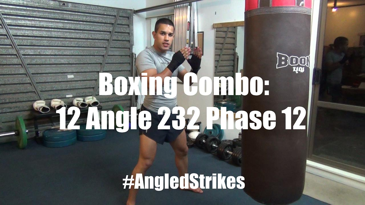 boxing combo for changing angles