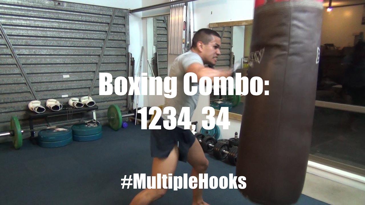 boxing heavy hooks
