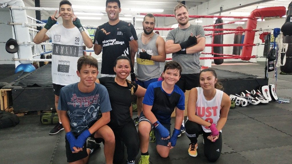 new zealanders learning boxing in auckland