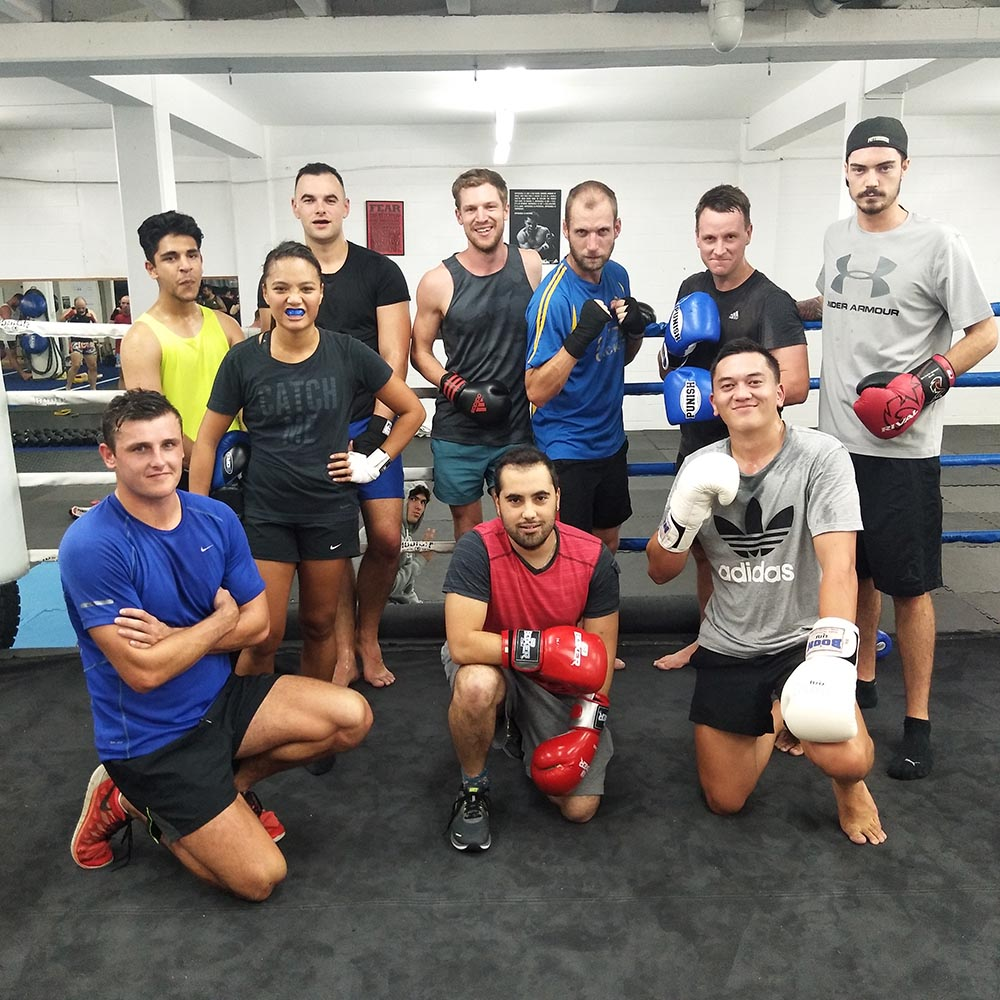 boxing new zealand blue team