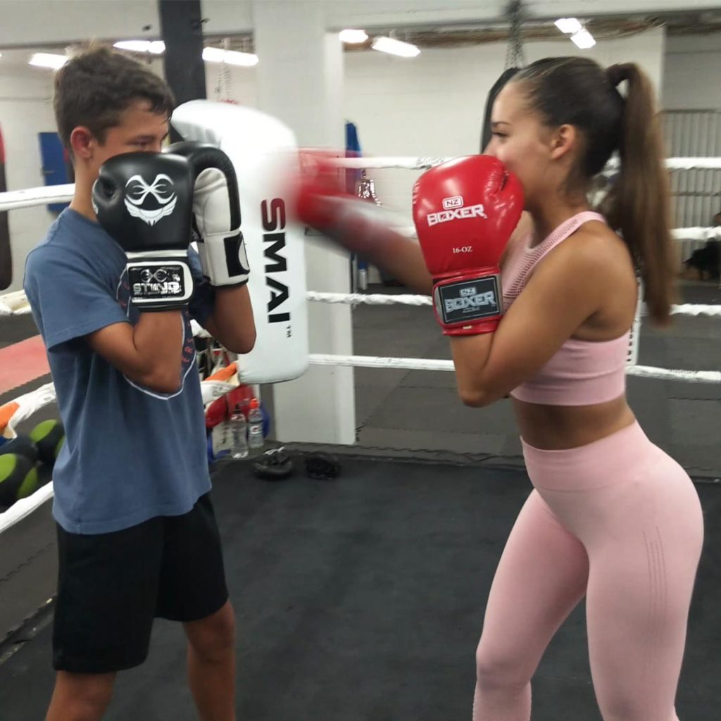ladies boxing for self defense