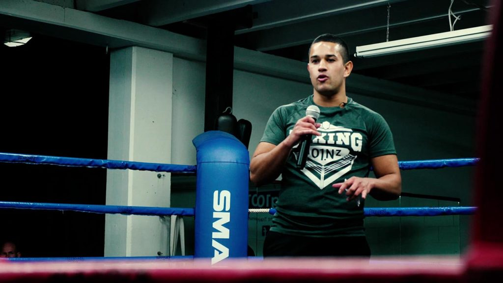 Dayne Williams introducing Boxing 101 New Zealand