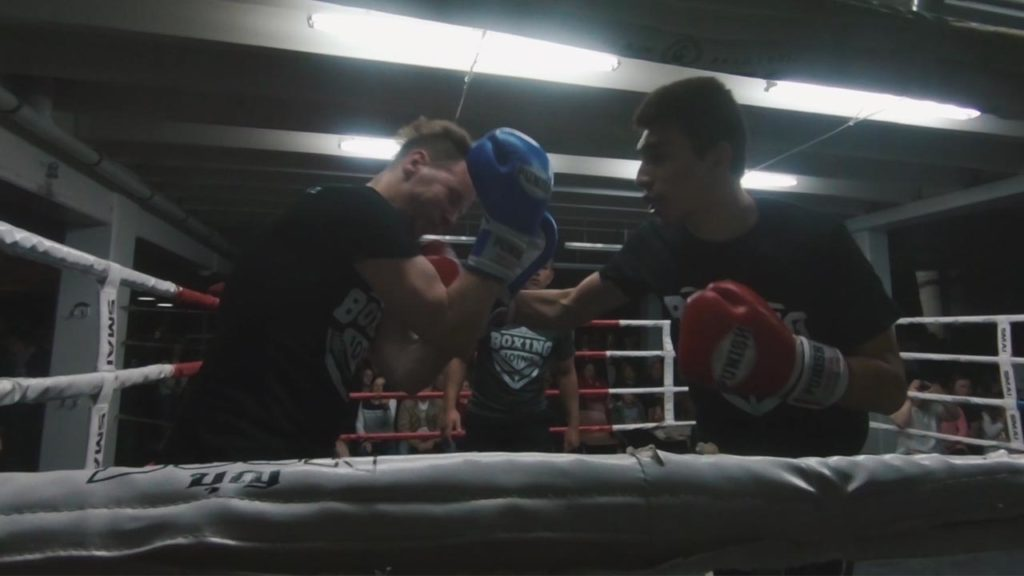 auckland corporate boxing fight