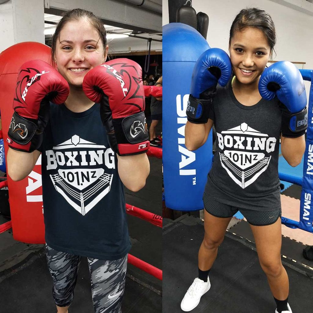 boxing 101 new zealand female boxers