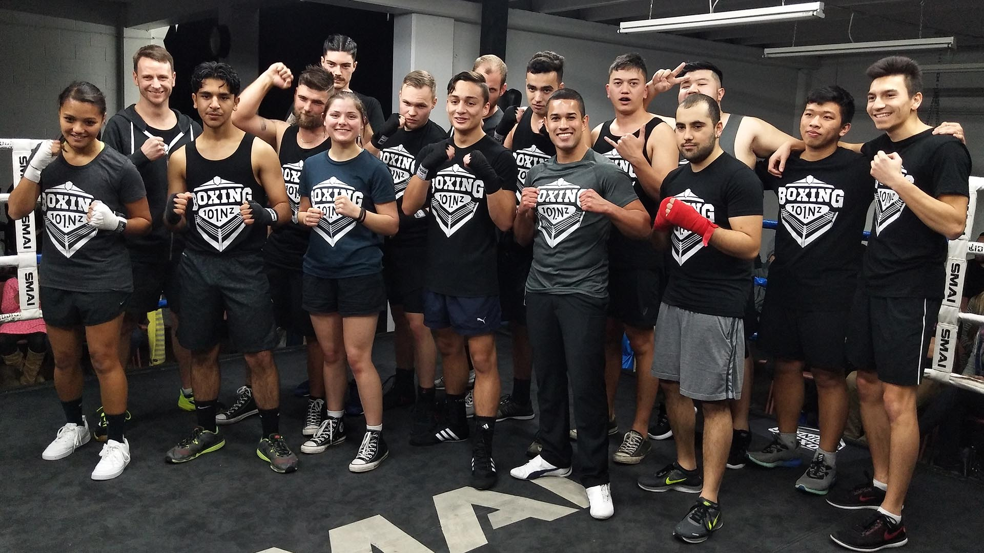 boxing 101 new zealand fight team