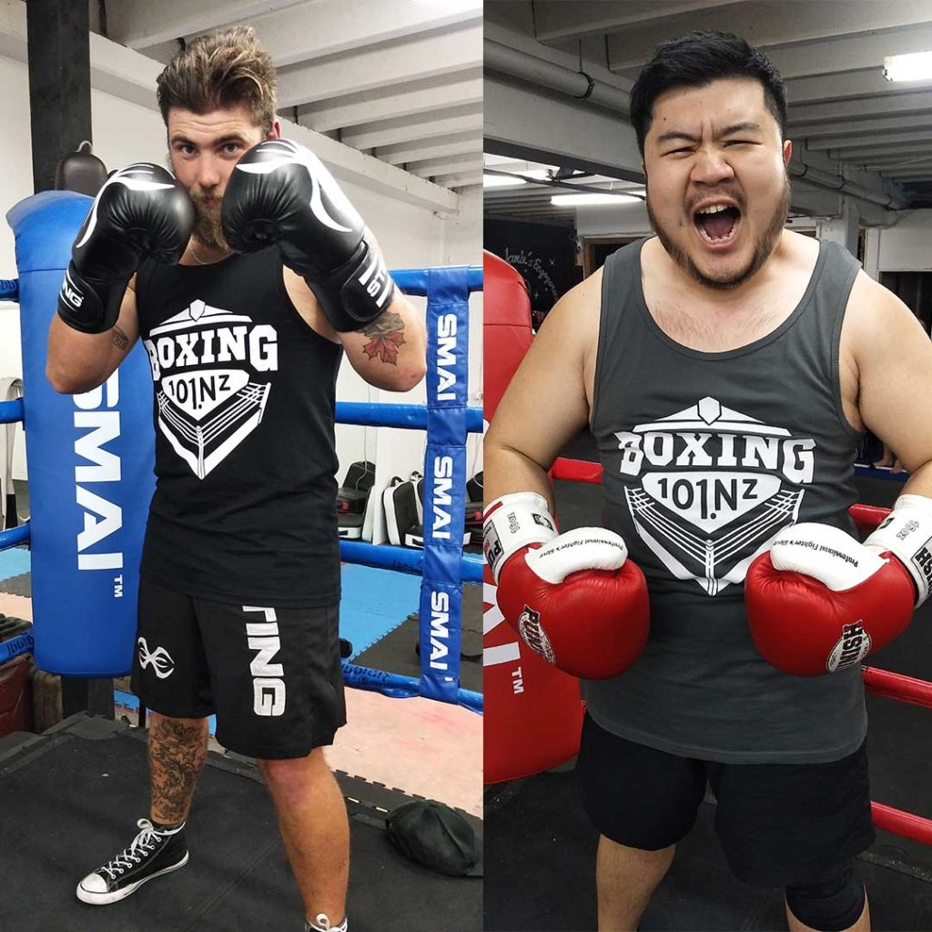 boxing 101 new zealand heavyweight fighters