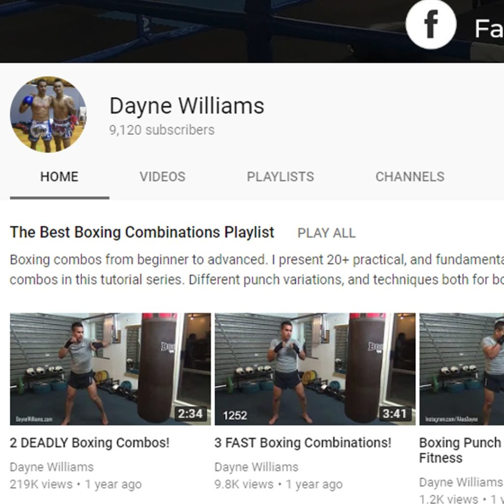 boxing youtube tutorials