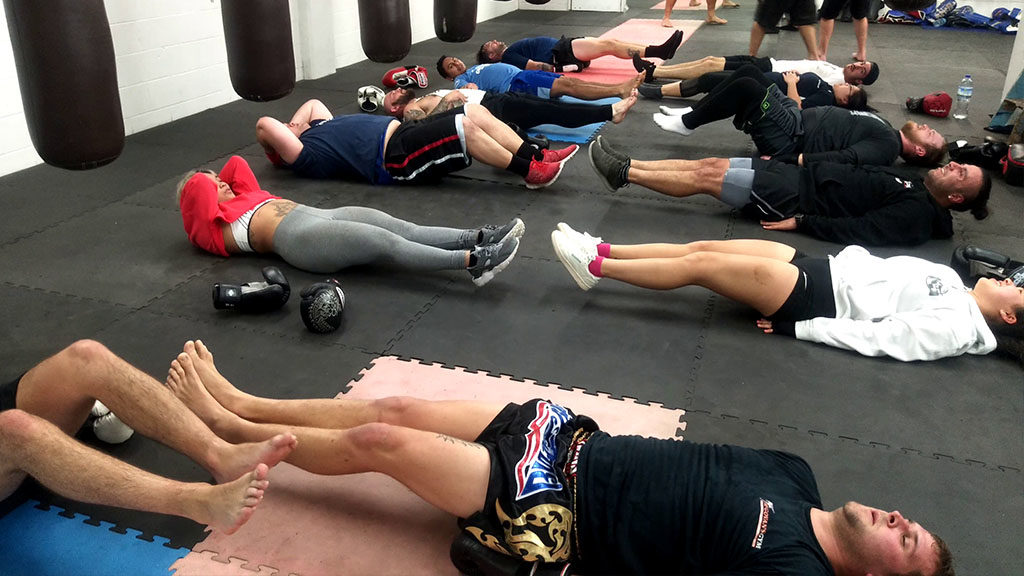 boxing core exercise for abs
