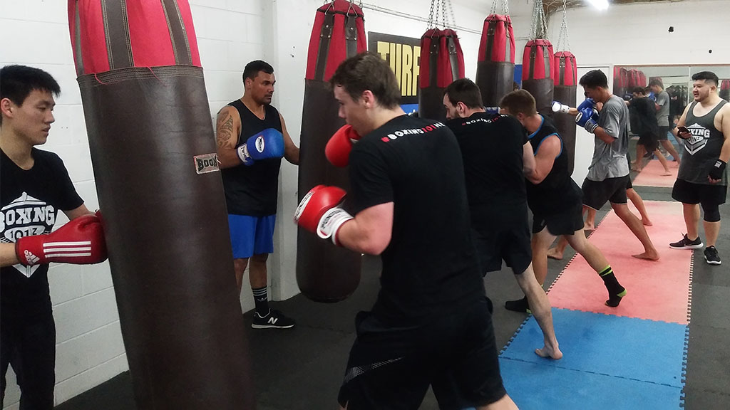 boxing team training in auckland