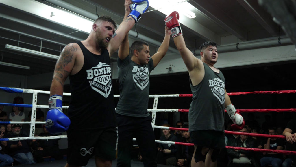 Auckland Corporate Boxing Fight Winners