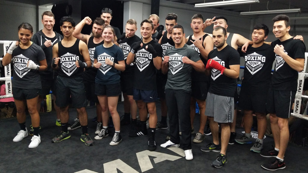 Corporate Boxing Fight Team