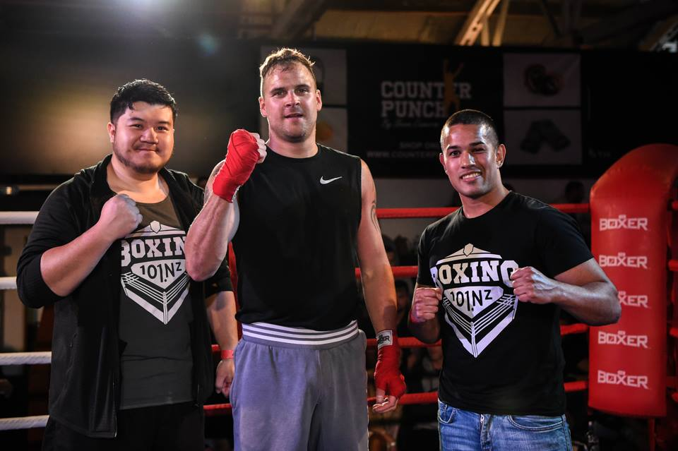 boxing 101 new zealand student wins his first fight